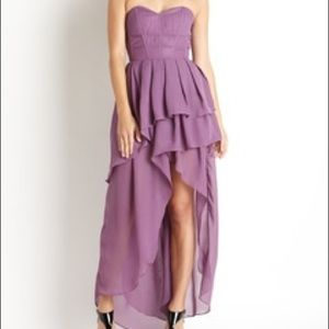 Beautiful GRACIA High low corset dress